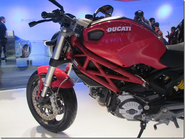 Ducati Monster 795 Cheapest Ducati Sports Bike Launched In India At Auto Expo 2012