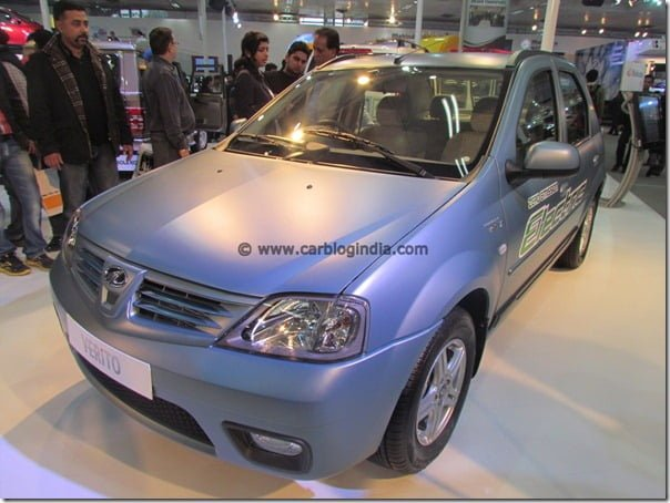 Mahindra Hybrid Vehicle For India