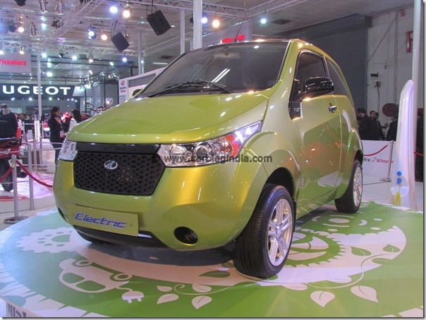Mahindra Reva NXR Electric Car