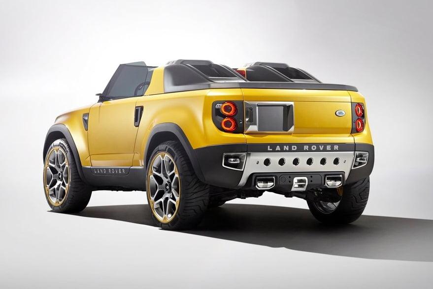 Land Rover Defender Concept 100 DC 100  Defender Concept 100