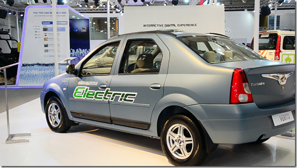 Mahindra Verito Electric