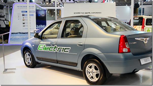 mahindra at auto expo 2016 MahindraVeritoElectric