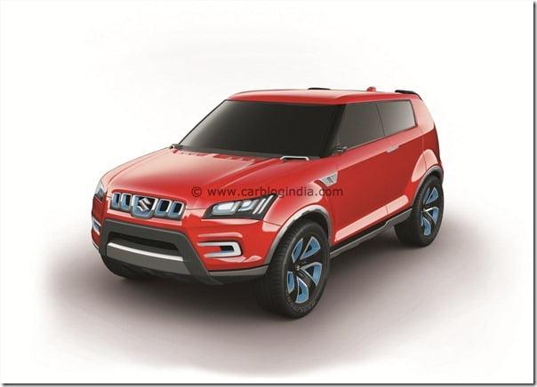 Maruti XA-Aplha SUV Concept (1)