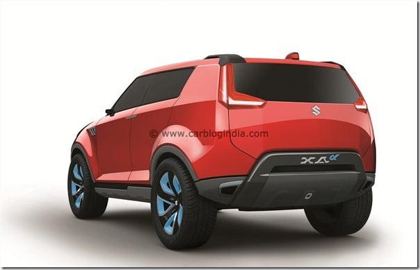 Maruti XA-Aplha SUV Concept (3)