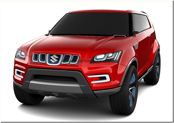 Maruti XA-Aplha SUV Concept (5)