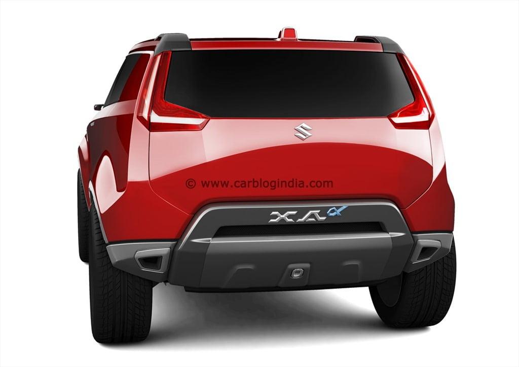Maruti XA Aplha SUV Concept (7)