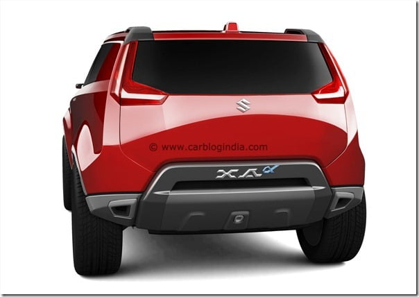 Maruti XA-Aplha SUV Concept (7)