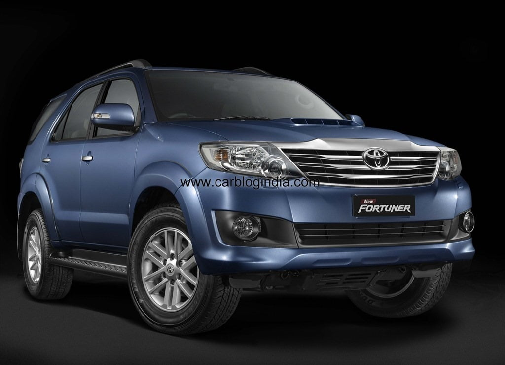 New Model Toyota Fortuner 2012 India Price List Pictures Features