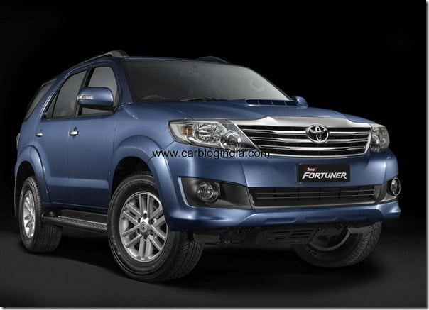 New Fortuner 4