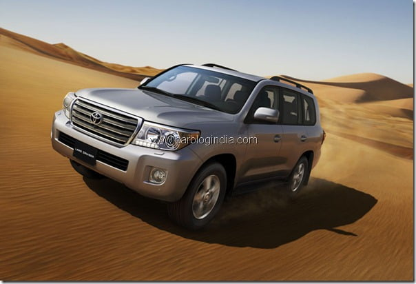 2012 Toyota Land Cruiser/LC 200 SUV New Model At Auto Expo 2012 – Specifications & Features