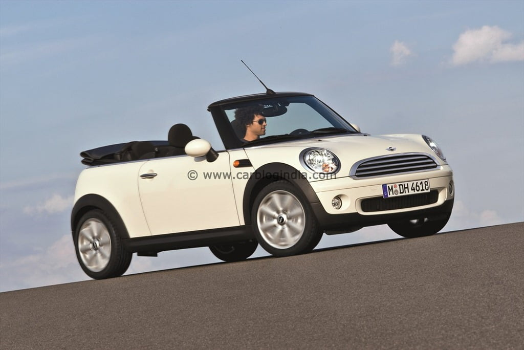 official price list of mini cooper, cooper s, convertible