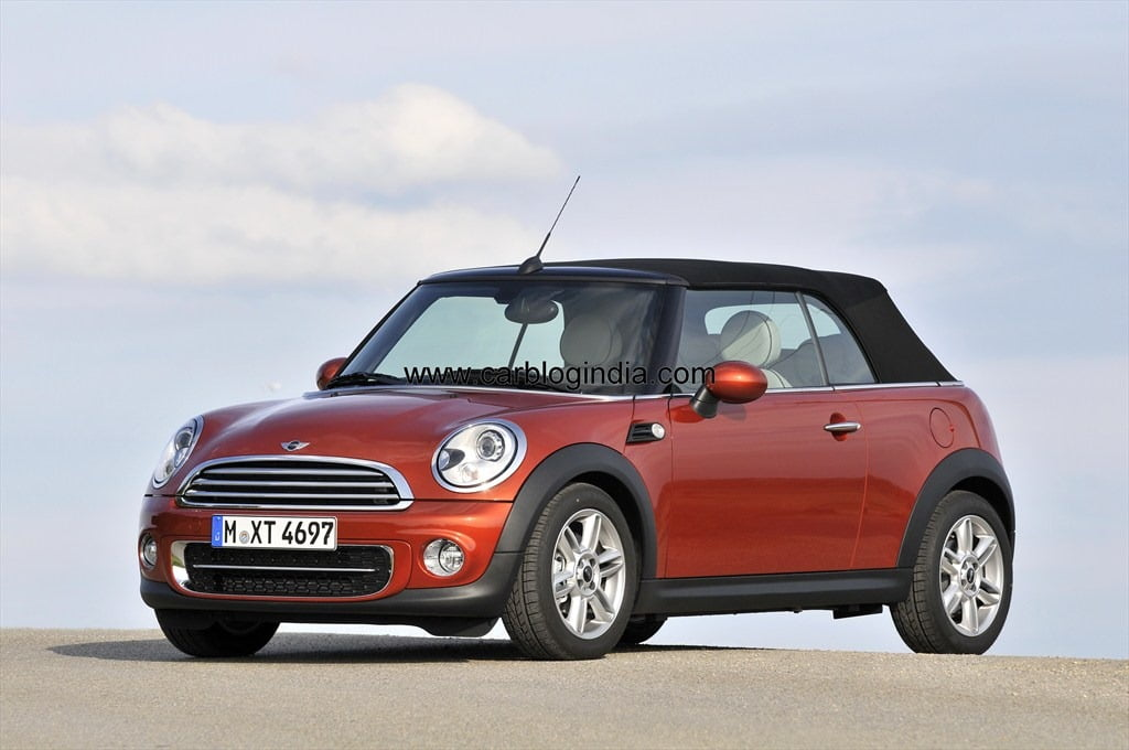 Mini Cooper Countryman 2012 >> Official Price List of Mini Cooper, Cooper S, Convertible, Countryman In India