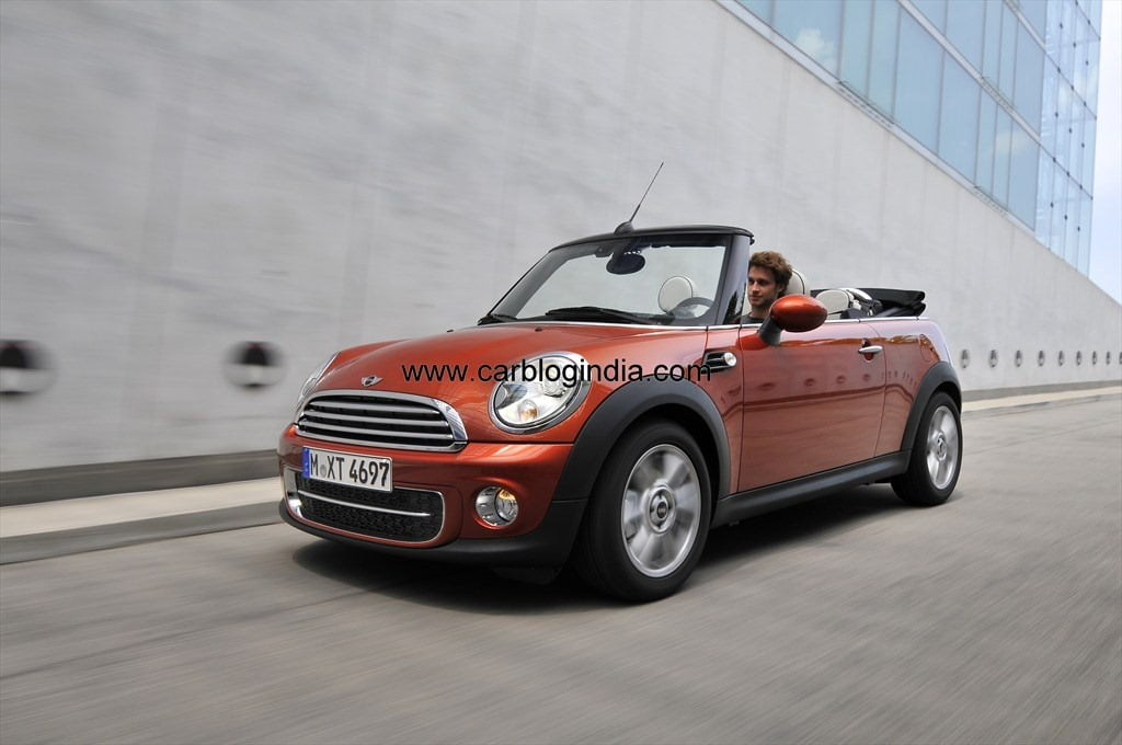 Official Price List Of Mini Cooper Cooper S Convertible Countryman In India