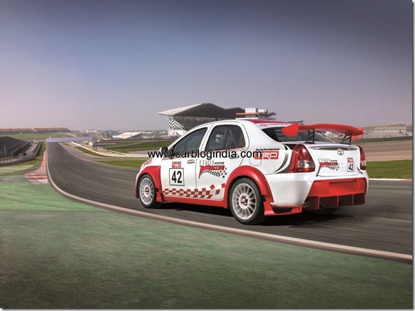 REAR SINGLE ETIOS speed