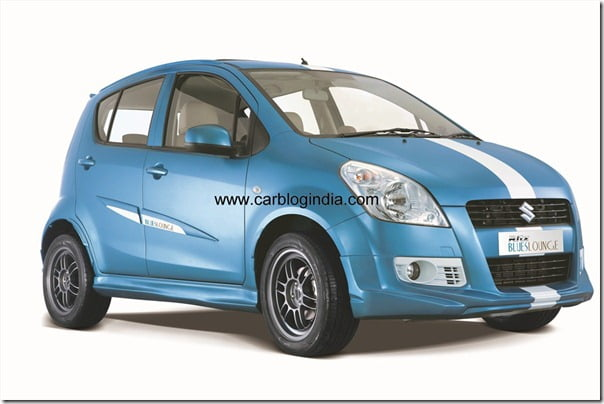 Maruti RITZ Facelift illustration India