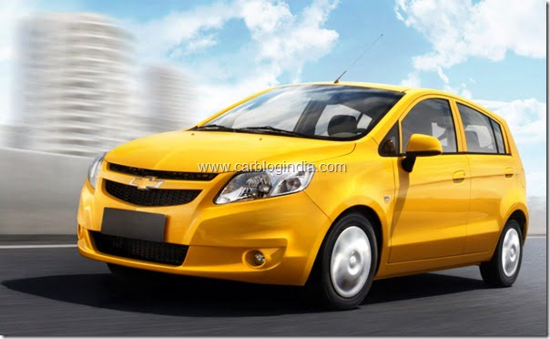 Chevrolet India Brings Chevrolet Sail Premium Hatchback At Auto Expo 2012– Pictures, Video, Details