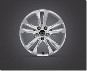 Sonata Alloy Wheel