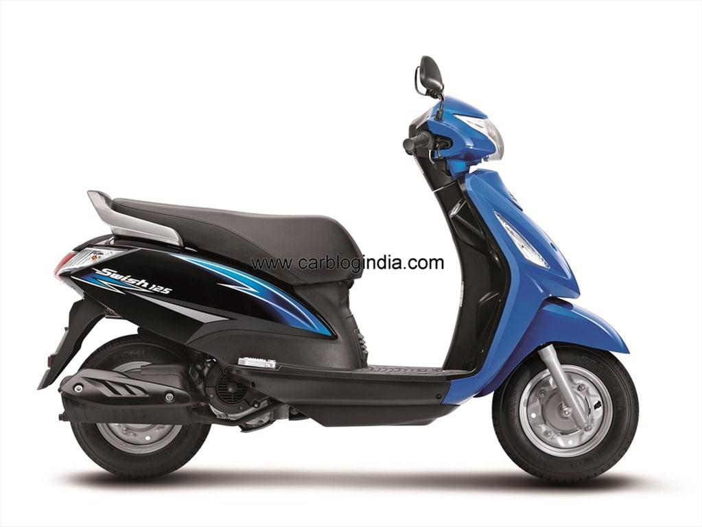 Suzuki Gearless Scooter
