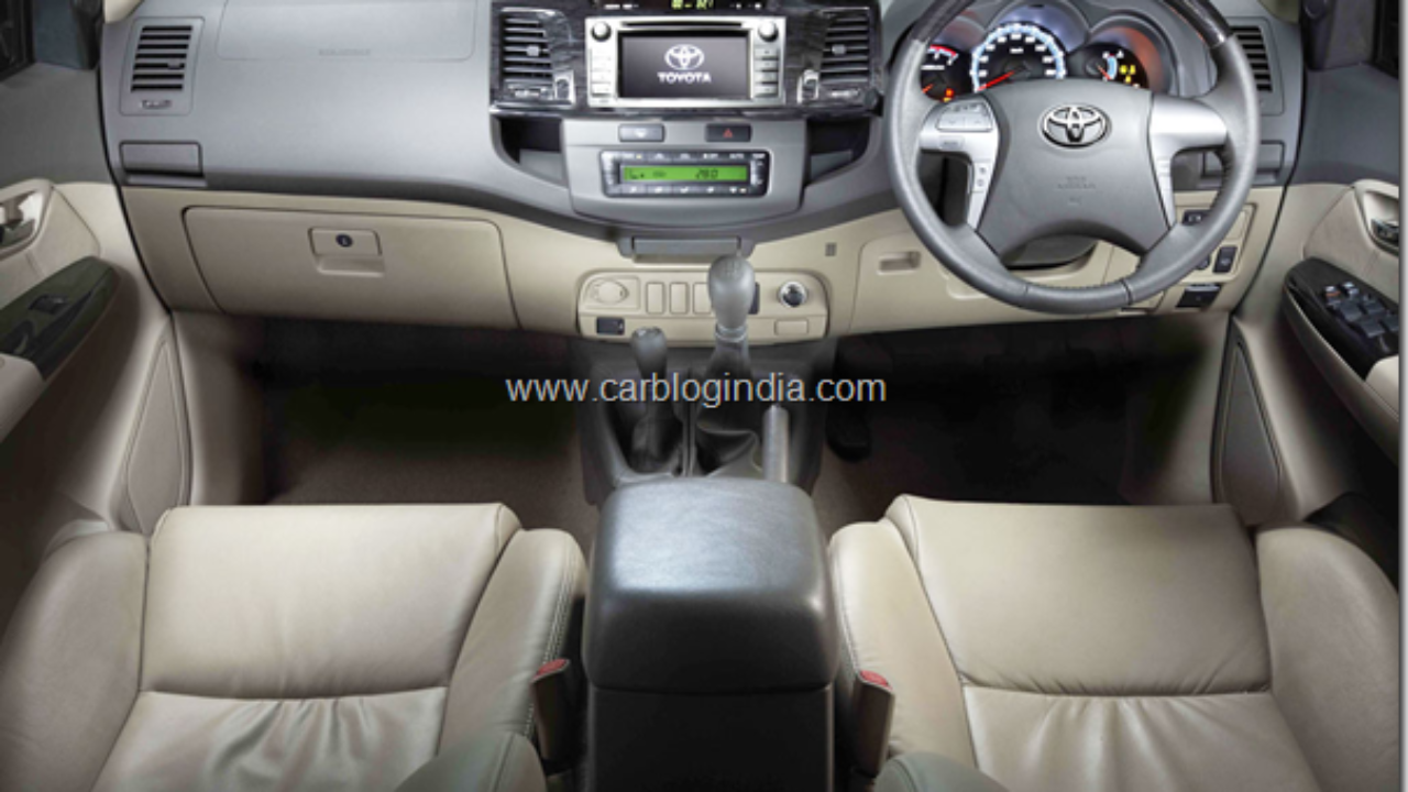 New Model Toyota Fortuner 2012 India- Price List, Pictures