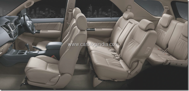 Toyota Fotruner 2012 New Model Interiors