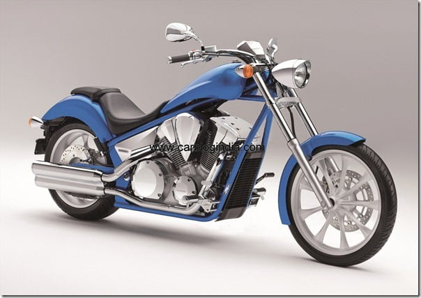 VT1300CX 2011 blue FR-side