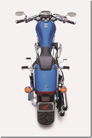 VT1300CX 2011 blue Rear-side2