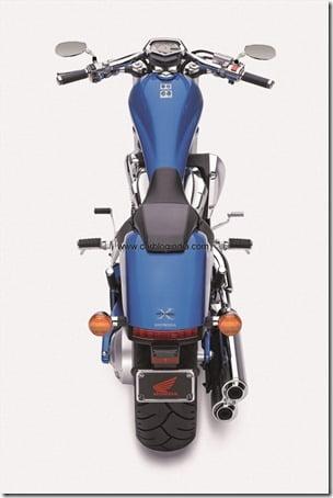 VT1300CX 2011 blue Rear-side2