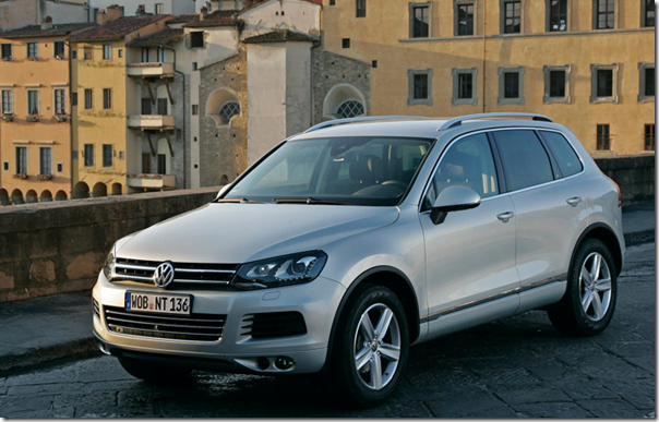 Volkswagen Touareg 2012 In India (1)