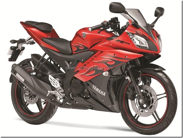 Yamaha R15 Fiery Edition