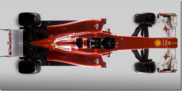 Ferrari Formula 1, 2012 Season Race Car Pictures and Details