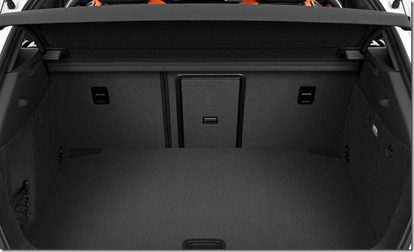 2013 Audi A3 Boot