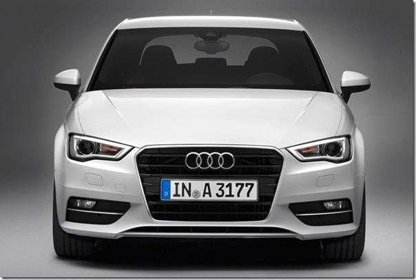 2013 Audi A3 Front