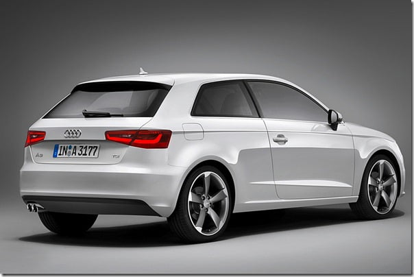 2013 Audi A3 Rear