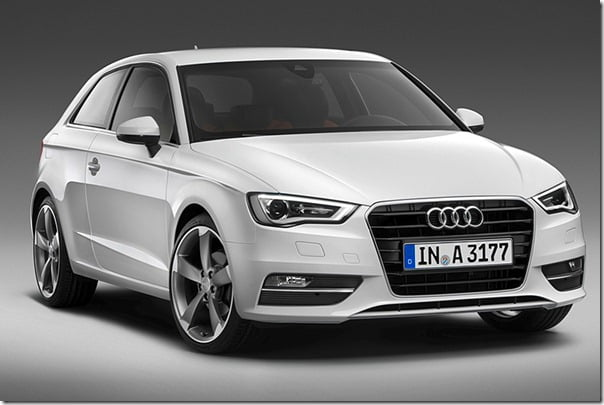 2013 Audi A3 Official Picture