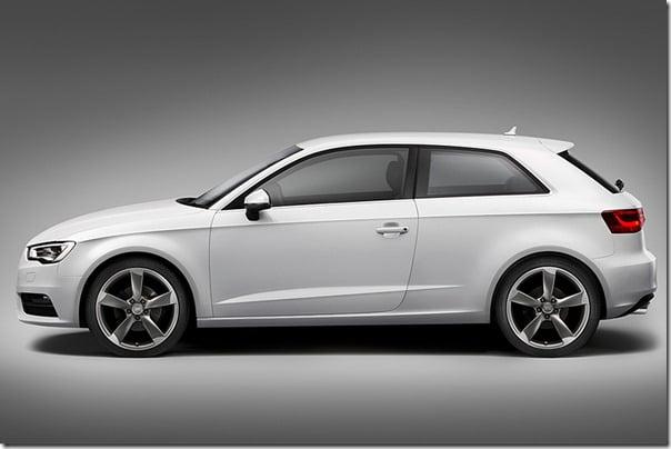 2013 Audi A3 side