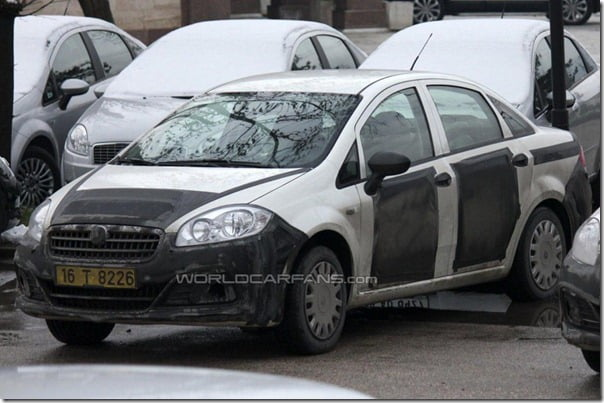 2013-Fiat-Linea-facelift-front-three-quarters
