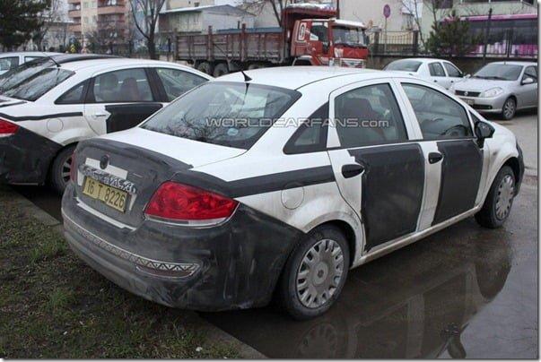 2013-Fiat-Linea-facelift-rear-three-quarters