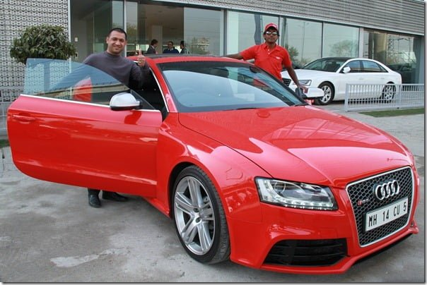 Audi Customers at the Audi R-Drive_