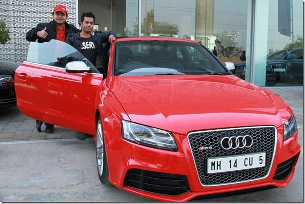 Audi Customers at the Audi R-Drive