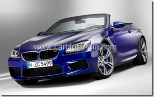 BMW M6 Convertible Official Pictures (1)