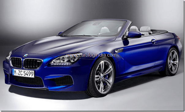 BMW M6 Convertible Official Pictures (2)
