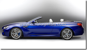 BMW M6 Convertible Official Pictures (4)