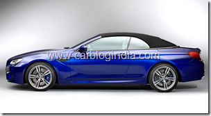 BMW M6 Convertible Official Pictures (5)