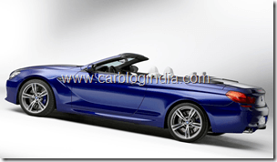 BMW M6 Convertible Official Pictures (6)