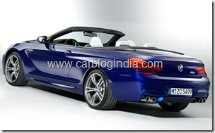 BMW M6 Convertible Official Pictures (7)