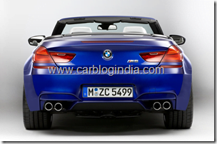 BMW M6 Convertible Official Pictures (9)