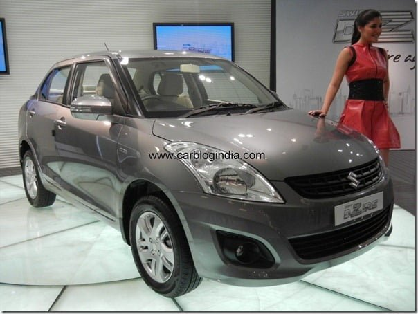 Maruti Swift Dzire 2012