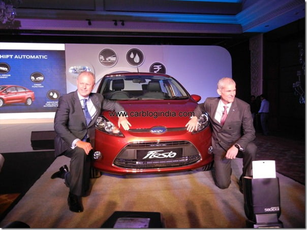 Ford Fiesta Automatic 2012 India