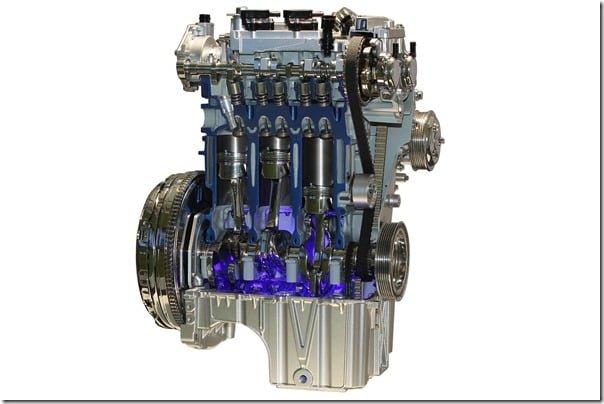 Ford 1 Litre 3 Cylinder Ecoboost Engine In Ford Focus Europe