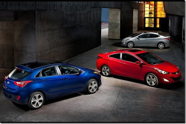2013 Hyundai Elantra GT Premium Compact Hatchback Unveiled